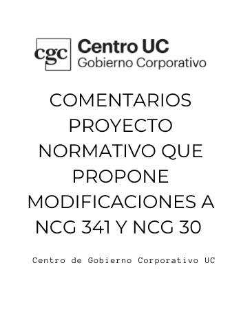 Comentarios CGCUC Proyecto Normativo 341
