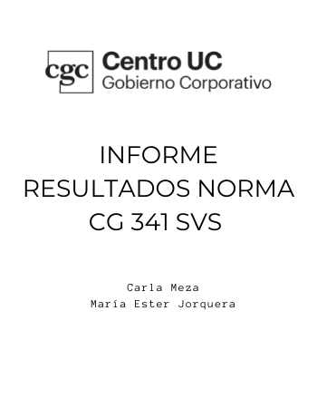 Informe CGCUC Resultados NCG 341